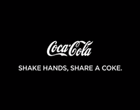 COCA-COLA - Shake hands, Share a Coke