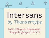 Intersans Typeface