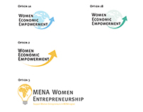 Women Economic Empowerment logo samples