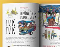 Bangkok Thug Life (travel book design)