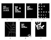 'Wag Mo Kong Salingin Journal Cover Artworks