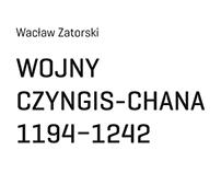 W. Zatorski, Wojny Czyngis-Chana 1194-1242