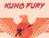 Kung Fury Poster | Inspiration by Olly Moss