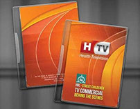 DVD ALBUM COVER DESIGN for HTV