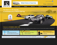 Car web site design (Auto Group)