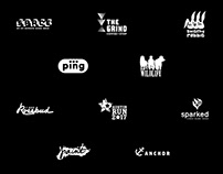 THIRTY LOGOS - Black and White ONLY