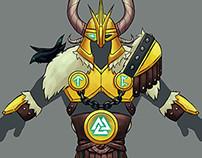 Legendary Norse Armor Concept