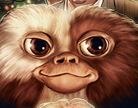 Gremlins print for Joe Dante tribute exhibition