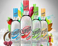 Sunset Vodka - Identidad Gráfica y Conceptual
