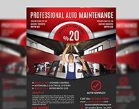 Auto Services Flyer Templates Vol.2