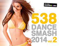 Restyling 538 Dance Smash series. Artwork Vol. 2.