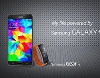 SAMSUNG GALAXY S5 PACKSHOT PROPOSALS