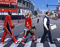 Chicago Abbey Road Sports Legends
