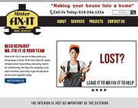 Mr Fix-It Website