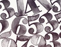 Poster Bodoni Handset Type