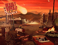 Deadly Vipers' EP Cover