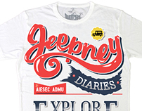 Jeepney Diaries: Shirt Design