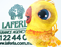 LAFERLA INSURANCE - CGI character animation/advertising