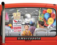 Busdoor - Vila Copos / 25 Anos
