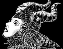 Maleficent Tribute (Vector Illustration)