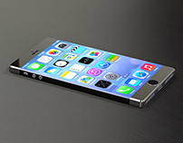 iPhone  - 3D modelling exercise