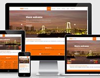 Flat free Responsive Mobile website bootstrap