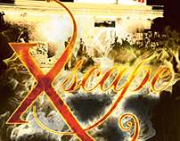 Xscape Book Cover Design
