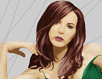 Kate Beckinsale Vector