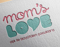 Mom's Love Logo ve Kurumsal Kimlik Çalışması