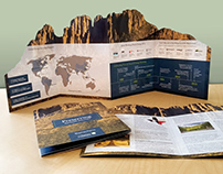 Die-cut Brochure Promoting Environmental Preservation