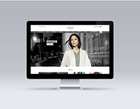Website for fashion store Chiaro