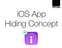App Hiding Concept