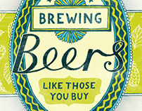Brewing Beers book cover