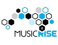Music 2 Rise Branding