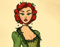 Baroque Poison Ivy