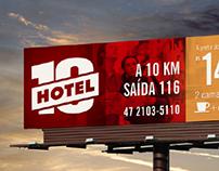 HOTEL 10 -  Redesign de Marca