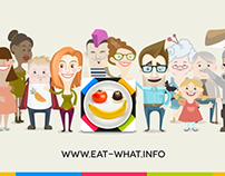 Eat What app - explainer video