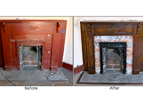 Nunez House: Fireplace Restoration