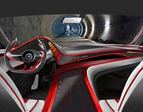 Lamborghini Dyneema interior