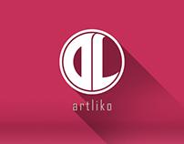 ArtLiko branding