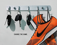 Art Direction Project: Nike Change The Game Campaign