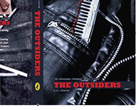 """The Outsiders (1967)"" - The book cover recreation."
