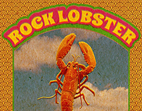 Cartaz Rock Lobster
