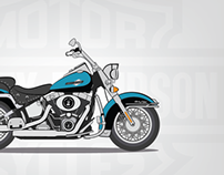 Harley Davidson Illustration