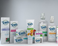 Tom's of Maine - Product Visualizations
