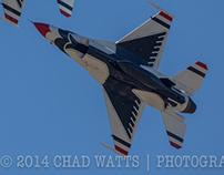Air Force Thunderbirds at USAFA