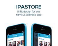 iPAStore App UI Redesign