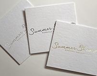 Summer Shea Wedding Photographer Brand Identity