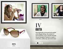 Sunglass Hut Artist Series Site