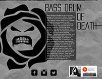 bass drum of death website